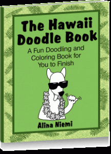 hawaii doodle book a doodling and coloring book for kids