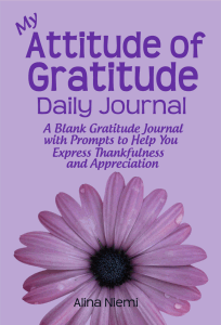 my attitude of gratitude daily journal gratefulness journal